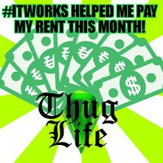 I was short on my rent and didn't know how I was gonna pay it. Then I got paid from #ITWORKS! #truestory www.LaughLoudandWrap.myitworks.com