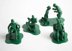 Injured Toy Soldiers