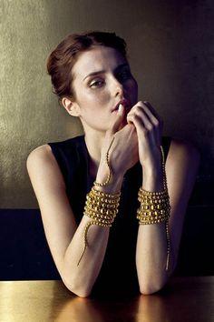 The Paula Mendoza Rattlesnake Accessories are Edgy #jewelry trendhunter.com