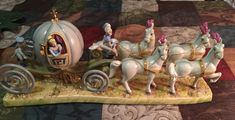 "Disney ROYAL DOULTON TABLEAU ""CINDERELLA - OFF TO THE BALL"""