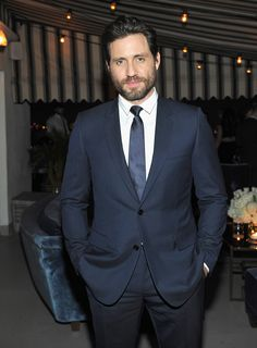 C Social Front. Dior Homme + GQ Men of the Year Dinner — Edgar Ramirez
