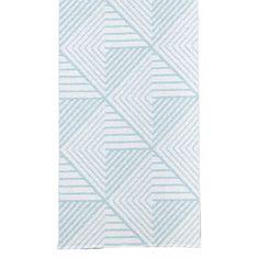 Stubbe tæppe, mint/hvid i gruppen Rum / Køkken / Køkkentæpper hos ROOM21.dk (1023331r)