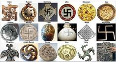 Swastika is a powerful ancient symbol that today is mostly associated with Nazi Germany. However, it's true origins stretches far back in time. Swastikas have been found on ruins across ancient Europe. All ancient European cultures-i.e., the Etruscans, Greeks, Romans, Gauls, Celts, etc. – practiced the same high spiritual religion of Hinduism, from where the swastika symbol originated.