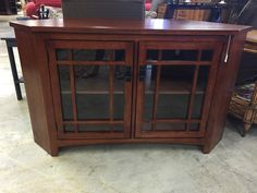 Beautiful corner entertainment center- $325 Buy online at mkconsignment.com   #furniture #mk #forsale #consignment #tv #entertainment #tvstand #design #decor #beautiful #home #house #apartment