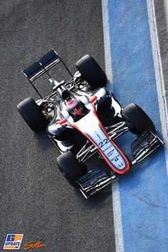 Jenson Button, McLaren, Formule 1-test in Jerez de la Frontera,  4 februari 2015, Formule 1