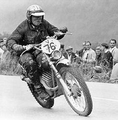 John Penton, Racing Legend and Founder of Penton Dirt Bikes. Of which where KTM's with his name on them. I had one.