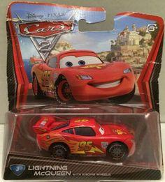 (TAS010524) - Disney Pixar Cars Lightning McQueen Die-Cast Racing Car