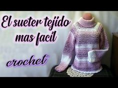 Crochet Granny, Bead Crochet, Knit Crochet, Crochet Shirt, Crochet Cardigan, Knitting Videos, Crochet Videos, Knit Fashion, Crochet Clothes