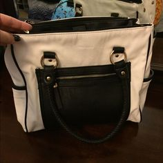Gently Used Hush Puppies Tote Purse