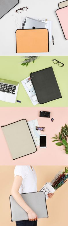 Look at all the pretty colors! The simplest way to carry all your documents, papers, and gadgets!