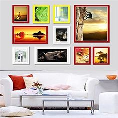 Moderne Wand Bilderrahmen-10er Set