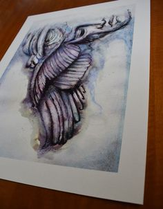 Hypnos Somnus Giclee art print on Hahnemühle Photo Matt | Etsy