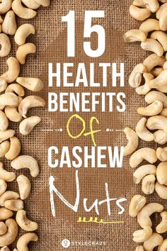 Amazing Benefits of Cashews You Should Know About 15 Amazing Health Benefits Of Cashew Nuts (Kaju) – Are You Eating Amazing Health Benefits Of Cashew Nuts (Kaju) – Are You Eating Them? Health Facts, Health Tips, Healthy Life, Healthy Living, Healthy Brain, Nutrition, Lower Cholesterol, Healthy Smoothies, Smoothie Recipes