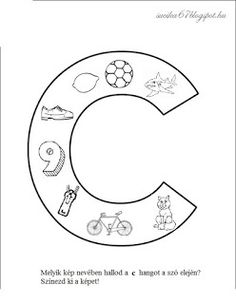 Játékos tanulás és kreativitás: Kisbetűkben képek a hangfelismerés gyakorlásához Dysgraphia, Special Education, Kids Learning, Folk Art, Symbols, Letters, Colours, Teaching, Facebook