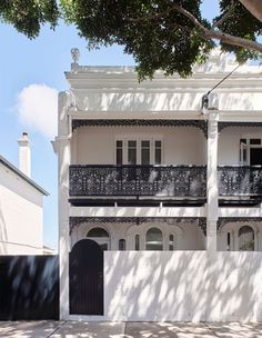 Inside Alexander House – Australia's Most Beautiful Live-Work Space White Exterior Houses, Workplace Design, House Extensions, Story House, Step Inside, Architectural Digest, Interior Architecture, Interior Design, Facade