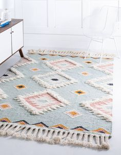 Light Blue Area Rug, Blue Area Rugs, Light Colors, Kids Area Rugs, Kids Room Rugs, Dorm Room Rugs, Baby Room Rugs, Southwestern Area Rugs, Boho Home
