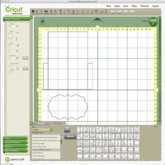 Cricut Craftroom Basics(font and shapes in image)