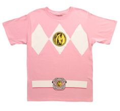 The Power Rangers Pink Rangers Costume T-shirt Tee - http://bandshirts.org/product/the-power-rangers-pink-rangers-costume-t-shirt-tee/