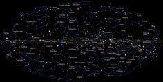 Mapa das Constelações