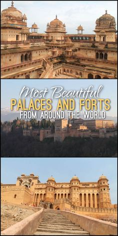 A huge collection of some of the world's most beautiful forts and palaces, including buildings from India, Portugal, Nicaragua and many more.