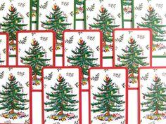 Spode Christmas Tree Cards