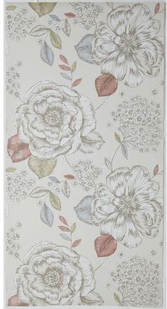 Mirella Wallpaper Vintage by James Dunlop Indent