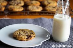 Caramel Chocolate Chip Cookies   Det søte liv