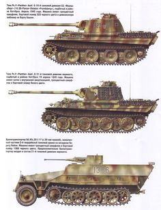 Panzerwaffe German Tanks
