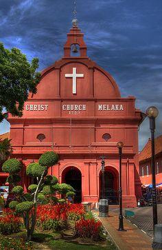 Christ Church - Malacca, Malaysia  www.liberatingdivineconsciousness.com