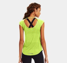 Women's UA Fly-By Short Sleeve | YES!! #UAWishList @Under Armour Women