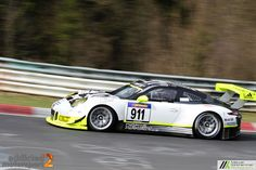 Porsche 991 GT3 R vom Semi-Werksteam Manthey Racing.