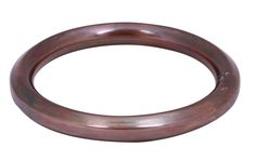 """Bulk Wholesale 3.4"""" Handmade Round-Shaped Metal Bangle / Bracelet in Copper Color with Antique-Look – Stylish Wrist Jewelry"""