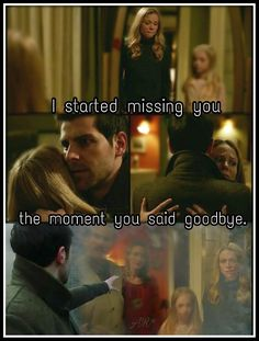 The way Nick hugged Adalind makes you believe that it was a goodbye hug!