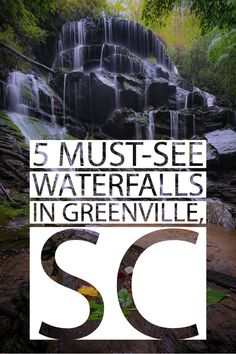 We're surrounded by waterfalls, and we even have one right in downtown! Make sure you see these 5 waterfalls during your Greenville, SC visit. Columbia South Carolina, Greenville South Carolina, North Carolina, South Carolina Vacation, Best Weekend Trips, Day Trips, Hiking Places, Places To Travel, Waterfall Trail