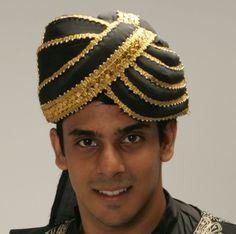 Turban for Holloween, Plays, Actor accessory. Have several colors and styles to choose from! Available at www.parasolheaven.com