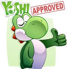 Yoshi APPROVES!! by LucarioOcarina Mario Fan Art, Super Mario Art, Disney Cartoon Characters, Nintendo Characters, Mario And Luigi, Mario Bros, Metroid, Yoshi Drawing, Pokemon