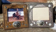 Display a buckle & a picture
