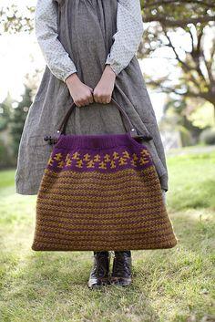Ravelry: Anne's Carpet Bag pattern by Joanna Johnson