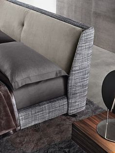 Letto matrimoniale SPENCER BED - Minotti