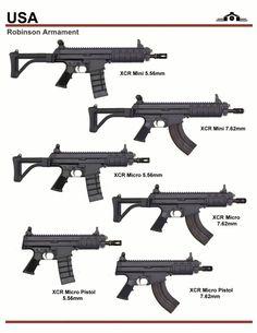 Robinson XCR Series Military Weapons, Weapons Guns, Guns And Ammo, Submachine Gun, Weapon Concept Art, Assault Rifle, Cool Guns, Panzer, Revolver