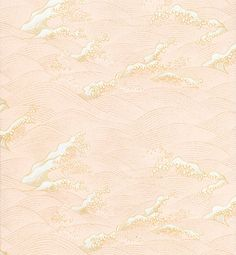 patternbase:  Yuzen Pink Gold Waves Fine Paper via Paper Source