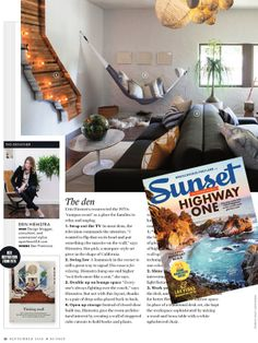 Apartment 34 with Erin Hiemstra   Did You See the September Issue? - Sunset Mag