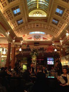 The Bank- Victorian Irish Bank now turned Bar in Dublin Dublin Pubs, Pub Crawl, Ireland Travel, Irish, Harry Potter, England, Victorian, Bar, City
