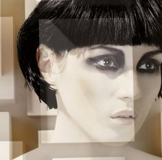 Neo  Siouxsie Sioux beauty Diy Beauty, Beauty Makeup, Beauty Hacks, A Line Bobs, Face Paint Makeup, Beauty Shots, Natural Curls, Rupaul, Makeup Yourself