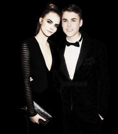 Group of: Justin Bieber and Cara Delevingne | We Heart It