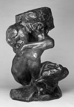 *Fallen Caryatid Carrying Her Stone