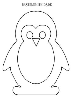 Malvorlagen und Briefpapier Gratis zum Drucken – Basteln mit Kindern Free stationery and coloring pages for toddlers, kindergarten children and adults. To tinker, paint and write yourself. Winter Crafts For Toddlers, Animal Crafts For Kids, Winter Kids, Winter Art, Winter Theme, Toddler Crafts, Preschool Crafts, Penguin Craft, Free Coloring Pages