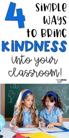 Promote kindness in