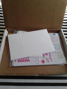 @planner.PICKETT: Happy Mail!! Planning for Happyness Shop Review