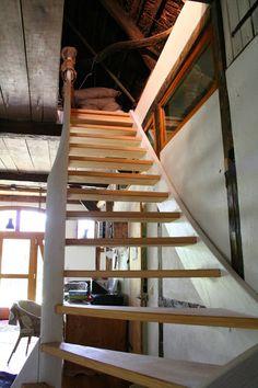 Reetselig: Ich liebe unsere neue Treppe zum Heuboden
